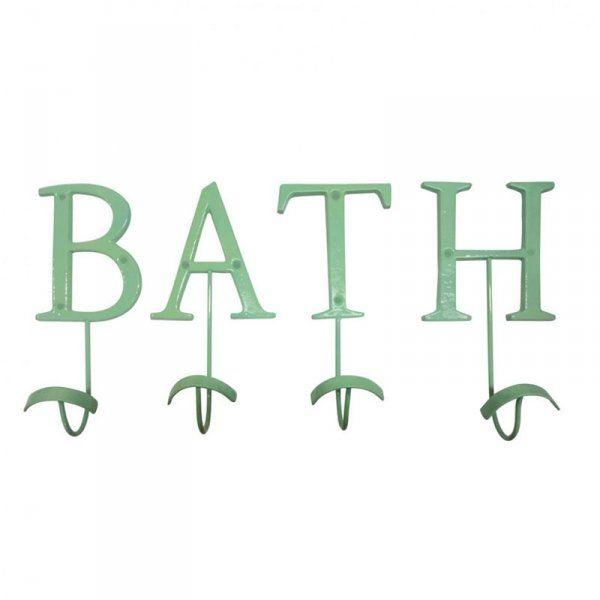 Set Appendiabiti verde menta - Bath