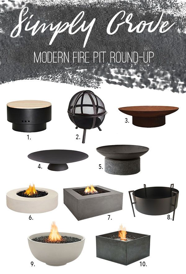 Fire Pit Round-Up via Simply Grove