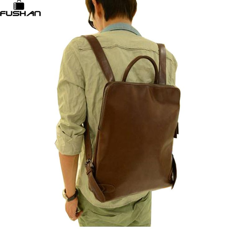 ==> [Free Shipping] Buy Best Promotion unisex women backpacks leather men's backpacks Multifunction backpack vintage men travel bags new 2017 School bag Online with LOWEST Price | 1971316154