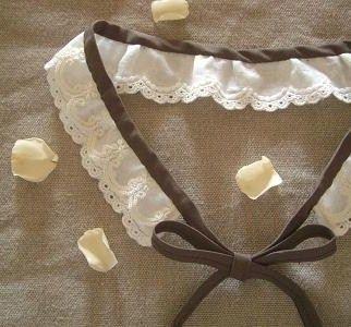 百円ショップで簡単※ズレないレースのつけ襟♪の作り方 ソーイング 編み物・手芸・ソーイング