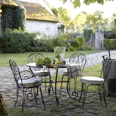 17 best ideas about chaise fer forg on pinterest d co - Chaise de jardin fer forge ...