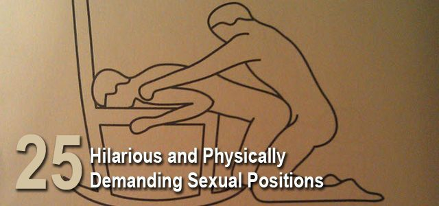 hilarious and physically demanding sexual positions list