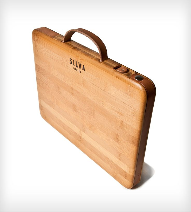 Bamboo iPad Case with Handle