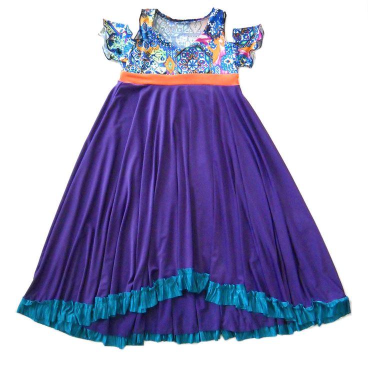 TwirlyGirl - Can Can Dress Purple Twirl Dress For Girls Fun Pretty   Violet Parisian Star, $74.00 (http://www.twirlygirlshop.com/purple-twirl-dress-for-girls/)