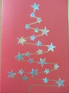 Tarjeta fácil de Navidad