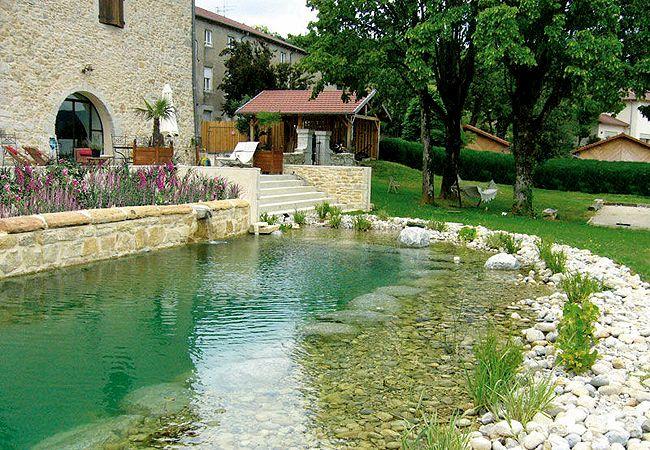 Já imaginou ter uma piscina natural dessas em casa?