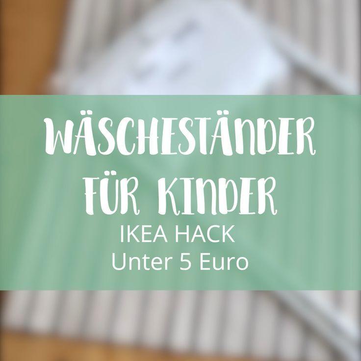 Montessori: DIY Wäscheständer für Kinder – Limmaland Blog