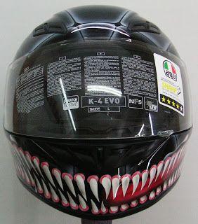 AGV Helmet Design Motorcycle #193 ~ Hand Painted Helmets - Design your helmet today..!!