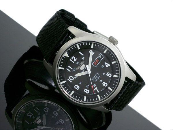セイコー SEIKO セイコー5 スポーツ 5 SPORTS 自動巻き 腕時計 SNZG15J1-2