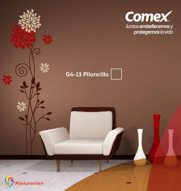 Sofa Designs For Small Living Room Microsuede Furniture Protector Un Toque #único Y #contemporáneo . #comexpinturerías # ...