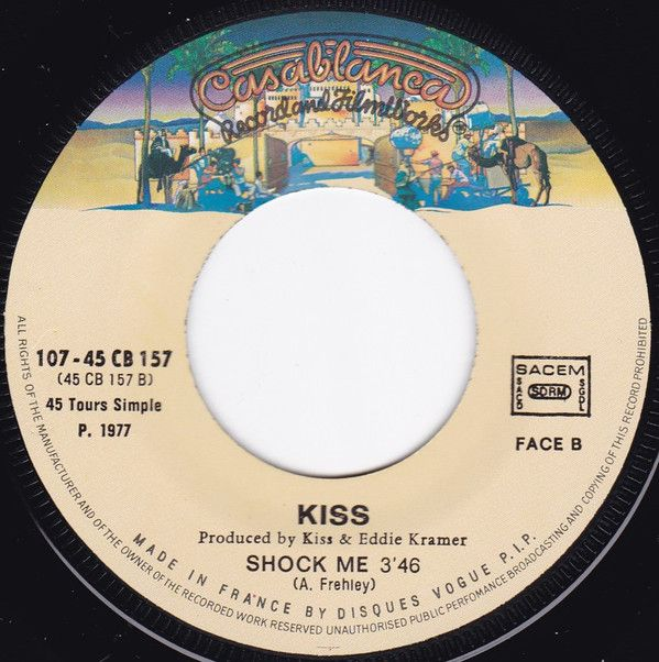 Kiss - Strutter '78 / Shock Me at Discogs