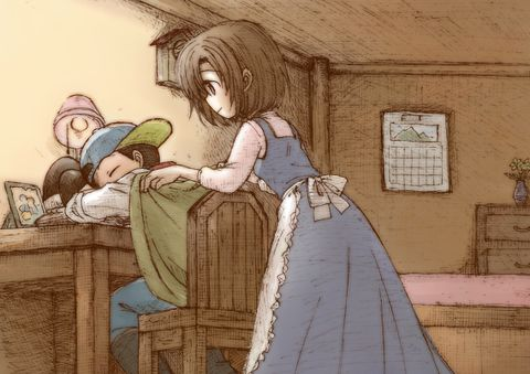 Jack and Elli, Harvest Moon: Friends of Mineral Town.