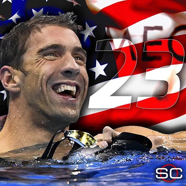 MICHAEL PHELPS FINISHES WITH A GOLD. USA wins the Men's 4x100m Medley Relay  to…