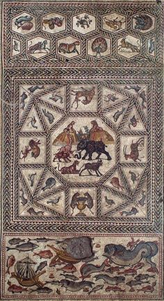 """New Exhibition """"Unearthing a Masterpiece: A Roman Mosaic from Lod, Israel""""…"""