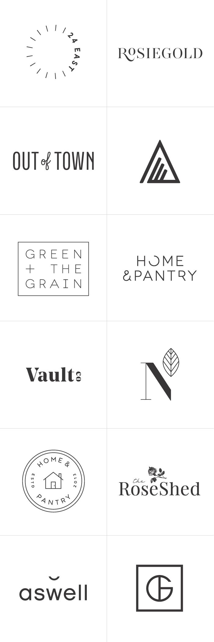 Logos by Rowan Made | 2015