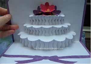 誕生日カードの作り方!飛び出すポップアップケーキを簡単手作り!   コタローの日常喫茶