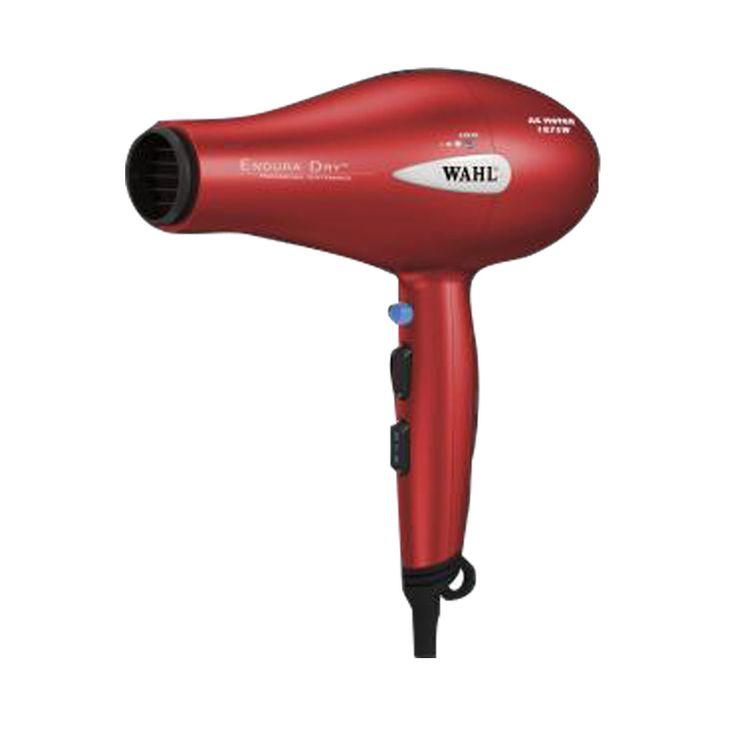 Personal Edge : Wahl 56993 Endura Dry Hair Dryer 1875 Watts Red