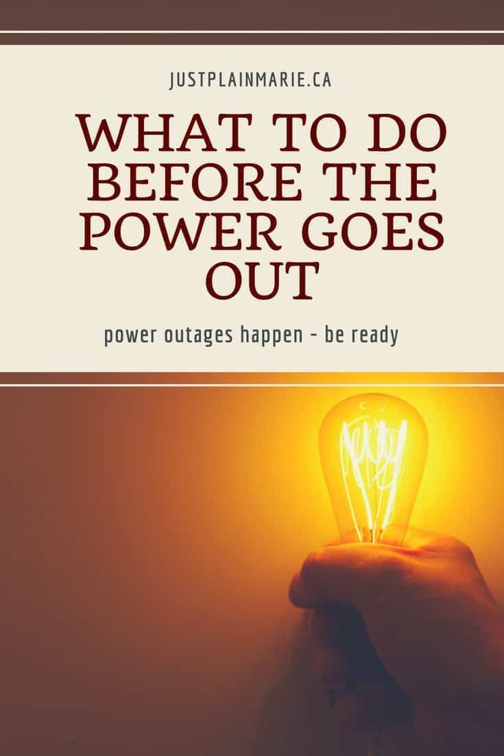 How To Deal With Power Outages Power Outage Survival Tips Survival