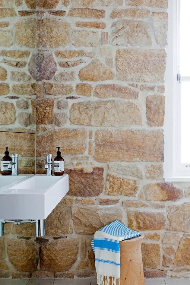 Bathroom Design Ideas By Exposing Natural Materials