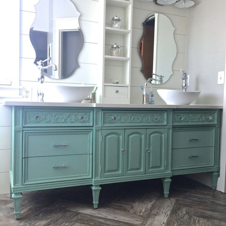 Bathroom Vanity Paint Ideas 25+ best dresser vanity ideas on pinterest | dresser sink, vanity