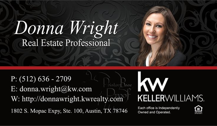 1000+ Images About Keller Williams Business Cards On Pinterest