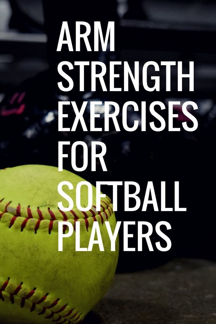 Arm Strengthening Exercises for Softball Players | Kids