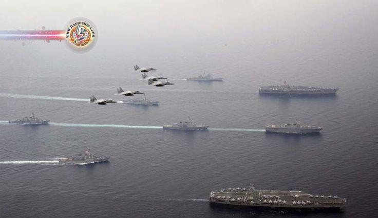 2 porta-aviões dos EUA deixam o Mar do Japão. O Departamento de Defesa dos Estados Unidos disse que os 2 porta-aviões enviados ao Mar do Japão partiram, ago