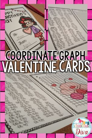 so much fun for Valentine's Day! Your kids will use the ordered pairs ...