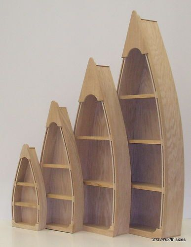 5 foot row boat bookcase Custom Handmade Wood Boat Shelves/Shelf skiff canoe rowboat bookcase man cave on Etsy, $139.95