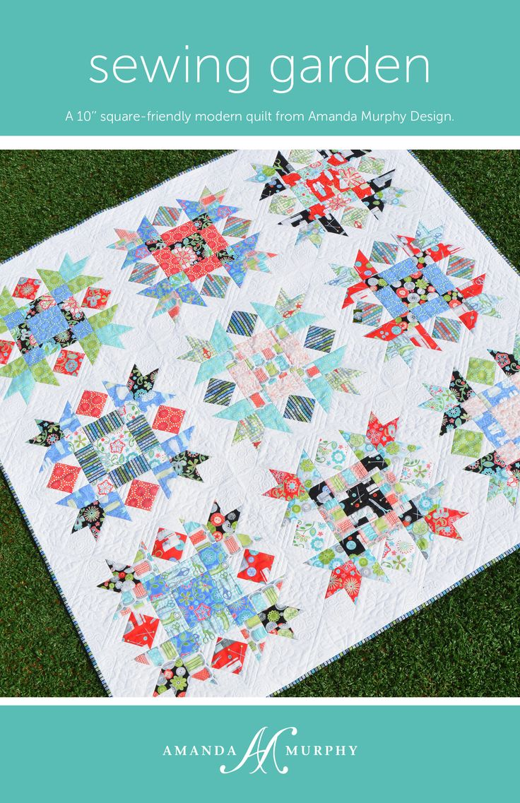 287 best Amanda Murphy Design quilts images on Pinterest | Folk ... : quilting and sewing blogs - Adamdwight.com