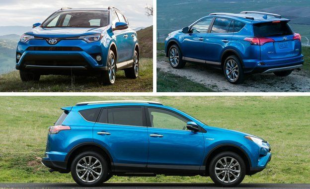 Full review of the new RAV4 hybrid, a sensible and high-mileage AWD gas-electric. Read our impressions and see photos of the hybrid RAV4 SUV at Car and Driver.