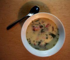 Summer Borscht from Mennonite Girls Can Cook.