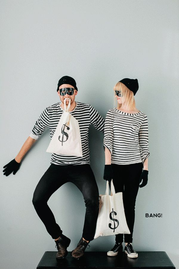 Totally Doable Halloween Costumes for Couples - Style Me Pretty Living