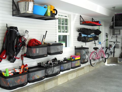 origanized garage layout - Google Search