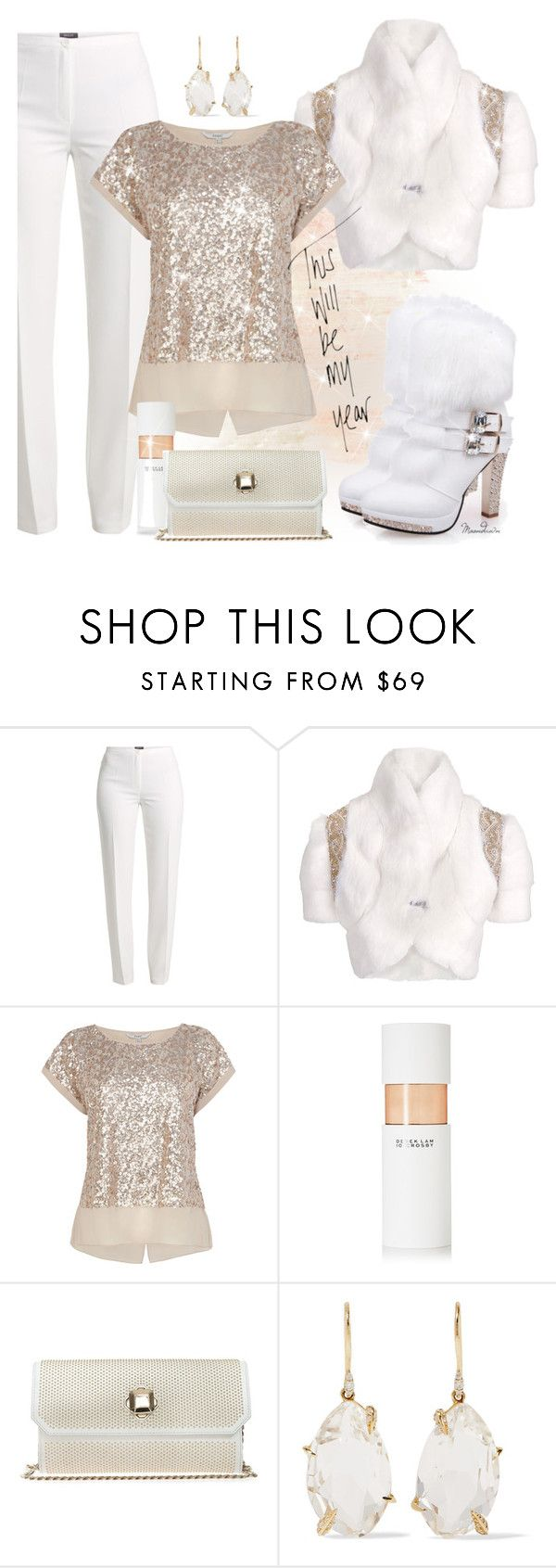 """#264"" by moondawn ❤ liked on Polyvore featuring Basler, Matthew Williamson, 10 Crosby Derek Lam, Elie Saab and Alexis Bittar"