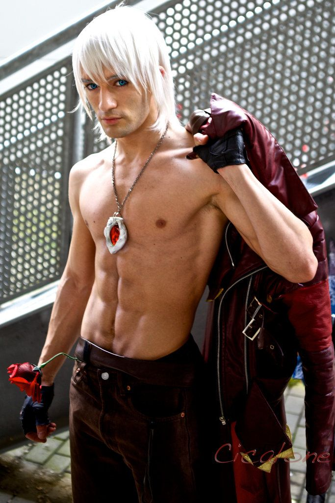 Dante Cosplay - Alternative Shirtless Version by ~LeonChiroCosplayArt on deviantART