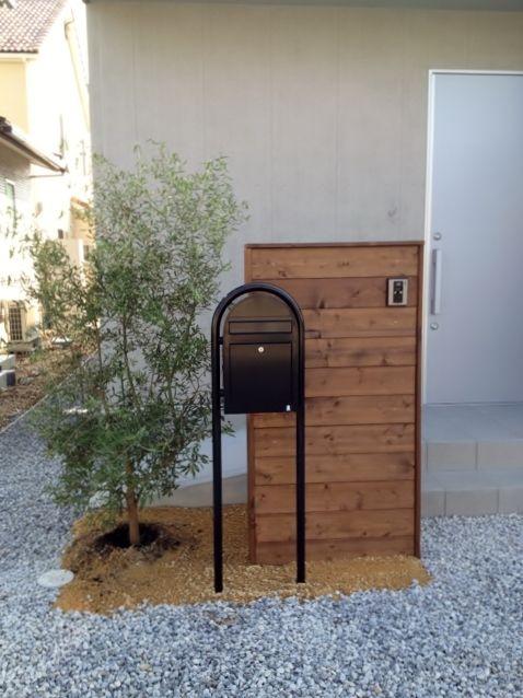 木製 門柱 - Google 検索