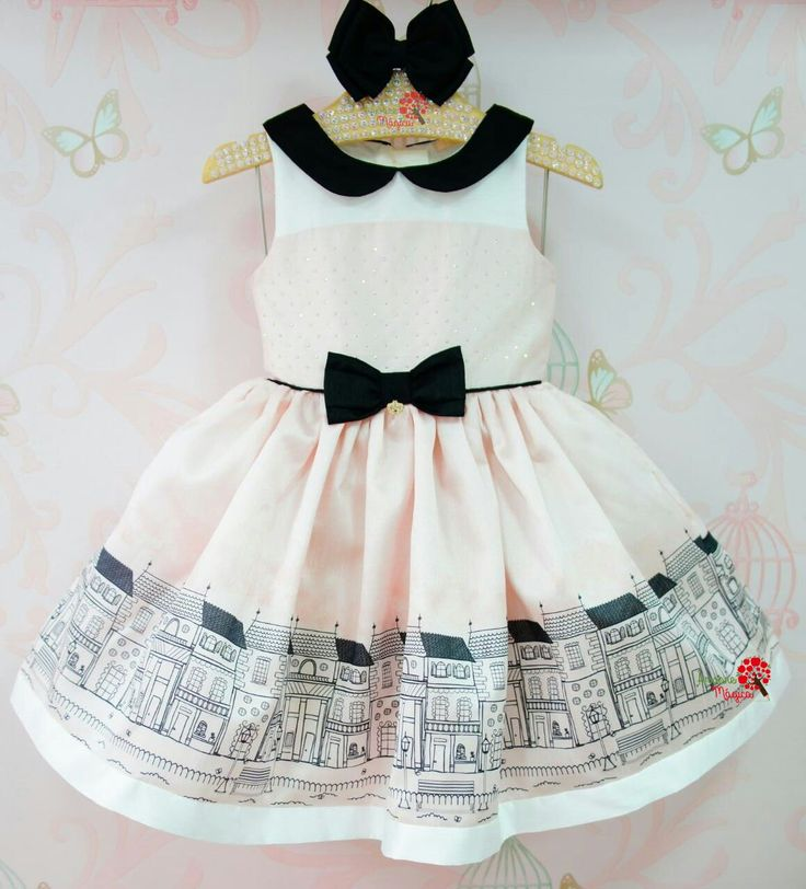Vestido de Festa Infantil Carolina Petit Cherie
