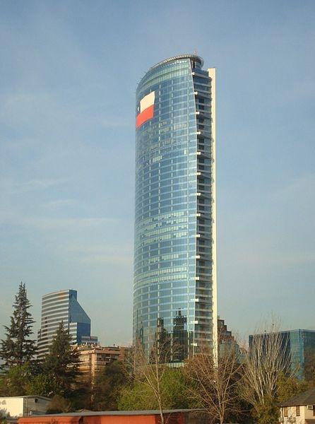 Torre Titanium La Portada. El segundo rascacielos más alto de Chile