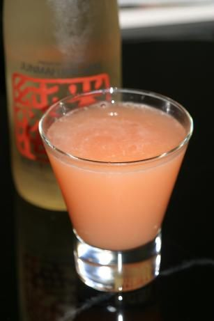 Tokyo Rose:     2 ounces sake      1 ounce peach schnapps      2 ounces orange juice      2 ounces cranberry juice      ice cube