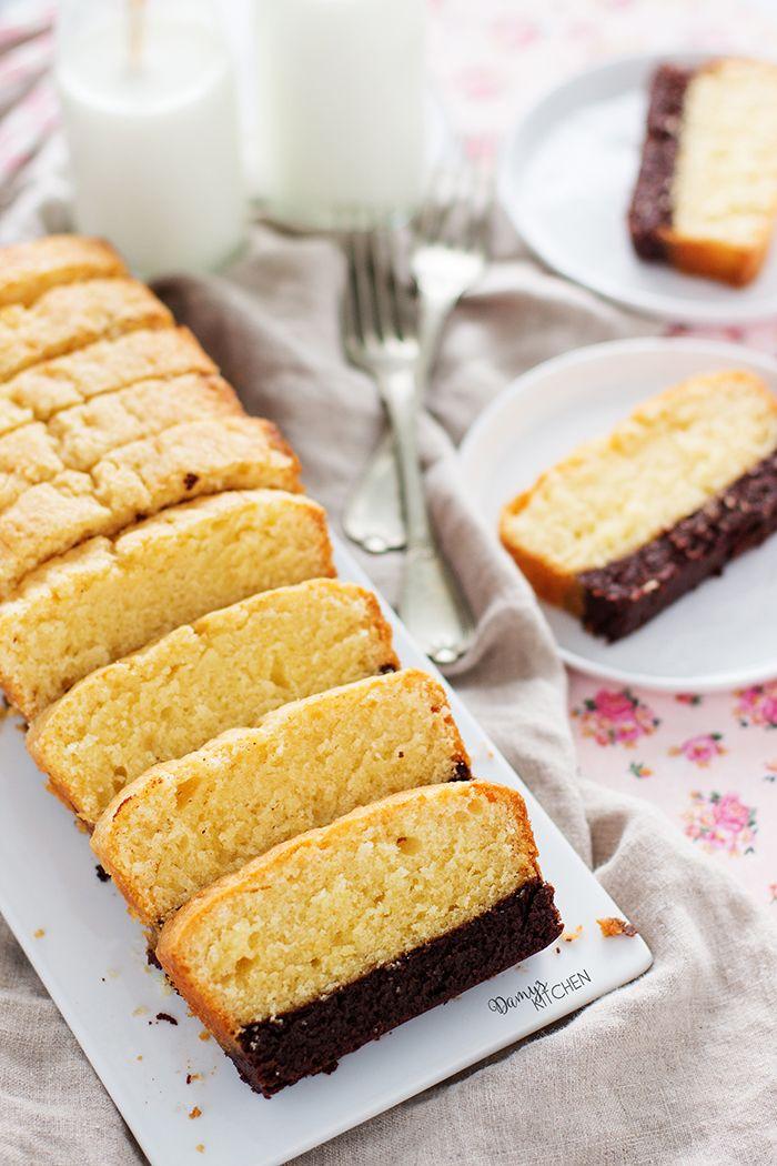 İsmi herşeyi anlatıyor aslında :) Browni katmanının üzerinde tereyağlı kek. İnanılmaz bir lezzet çıktı ortaya! Evi mis tereyağ kokusu sar...