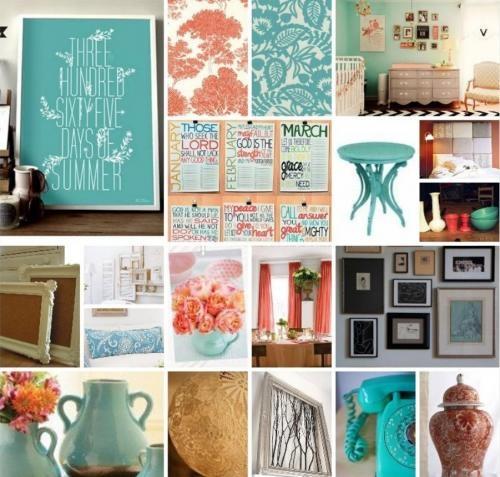 Bedroom Sketch Bedroom Art Ideas Bedroom Color Schemes Teal Vintage Bedroom Curtain Ideas: 127 Best Turquoise+Coral+Pink+Orange Inspiration Images On