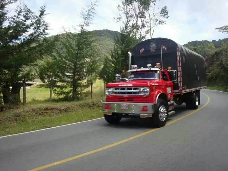 old dodge truck semi trucks pinterest. Black Bedroom Furniture Sets. Home Design Ideas