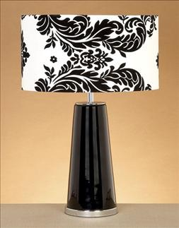 Black and White lamp