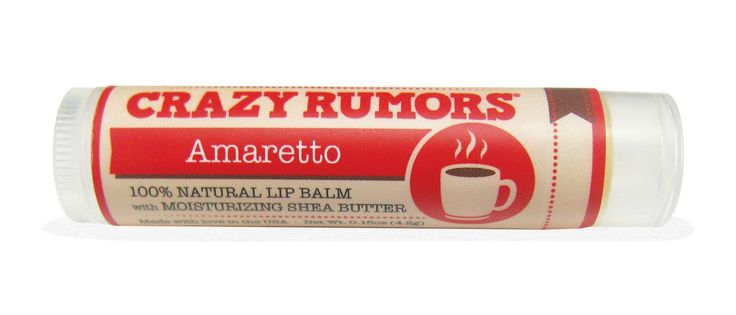 Crazy Rumors, Perk, Lip Balm, Amaretto, 0.15 oz (4.2 g) - iHerb.com (discount code LOD517 for first time buyers)