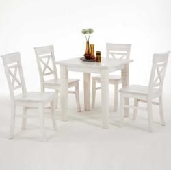 Photo of Dining group Alistair with 4 chairsWayfair.de