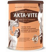 Akta Vite Drinking Chocolate - Aussie made, lactose free, vitamins  minerals. Yummy, crunchy, chocolate that's delicious on ice cream!