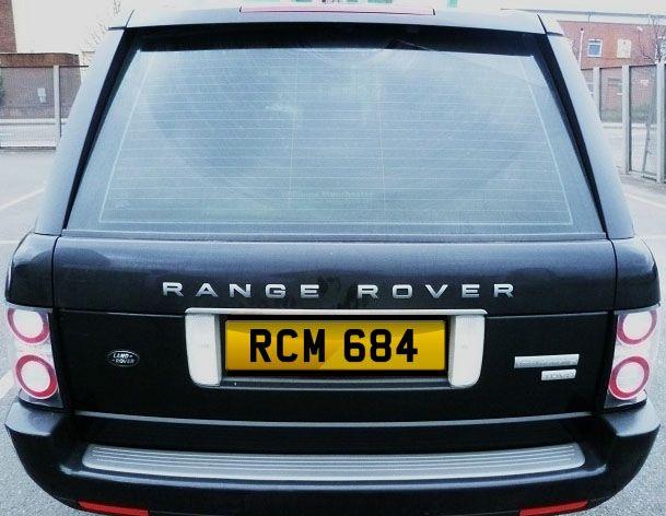 RCM 684 #reg #plate for #sale £2905 all in #bargain www.registrationmarks.co.uk