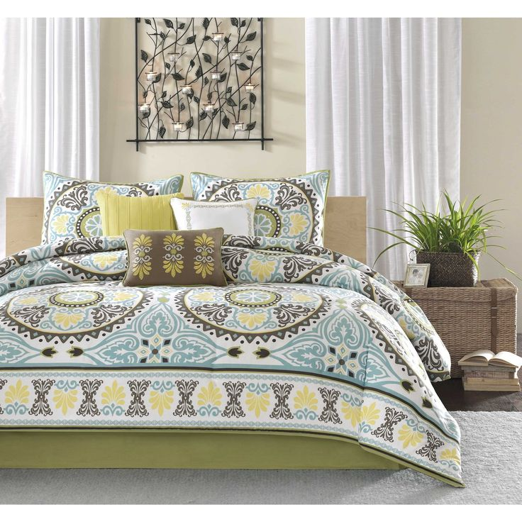 Brown And Yellow Bedroom Ideas: 1000+ Images About Bedding On Pinterest