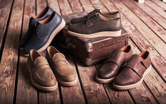 Новая марка: Мужские кожаные ботинки «Циркуль».